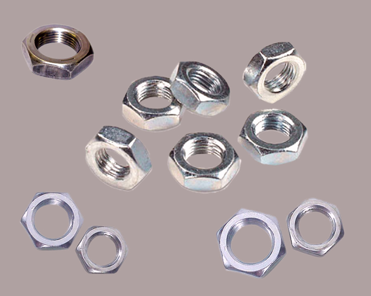 1//4-28 Fine Thread Finished Hex Nut Stainless Steel 316 Pk 100